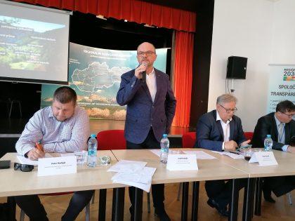 Podpredseda SOPK Miloslav Karaffa uviedol druhý panel podujatia