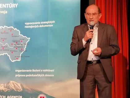 Iniciatívu Regióny 2030 predstavil Jozef Hrobák z SOPK