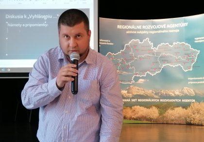 Postoj Národnej siete MAS SR k viacúrovňovému riadeniu regionálneho rozvoja vysvetlil Peter Madigár