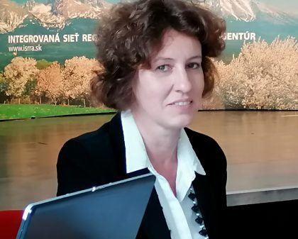 Oba panely moderovala Marta Sláviková, riaditeľka RRA Kysuce