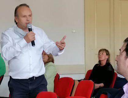 Ján Pavlík, riaditeľ odboru regionálneho rozvoja, priblížil koncept ŽSK v oblasti viacúrovňového riadenia