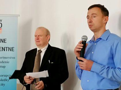 Zúčastnených na pôde mesta privítal aj primátor Kremnice Alexander Ferenčík